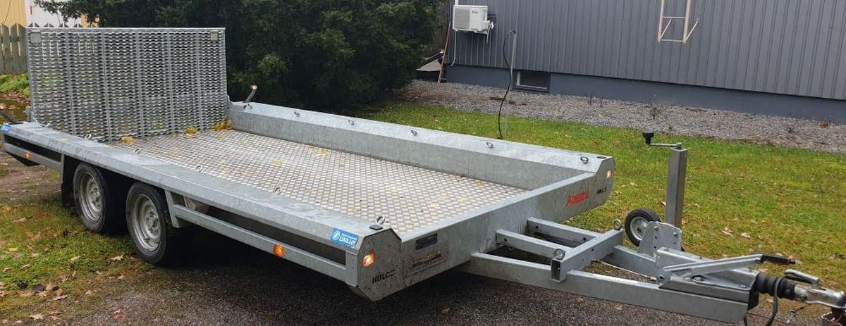 Koneenkuljetus traileri, Hulcon Terrax-2